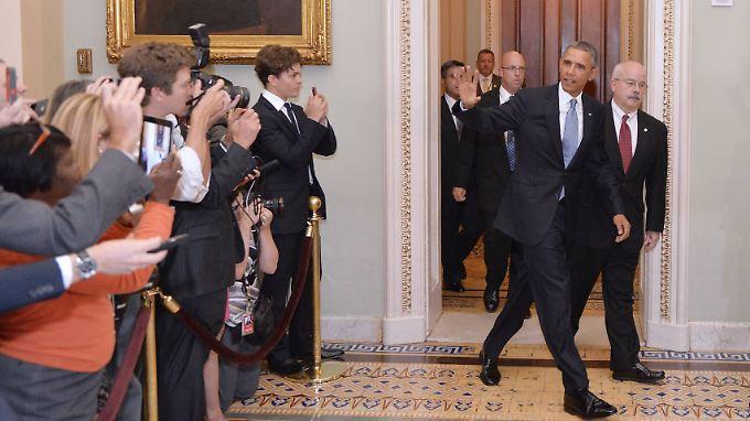 In seiner mit Spannung erwarteten Rede an die Nation sprach sich Obama erneut für einen begrenzten Militärschlag gegen das Assad-Regime aus.