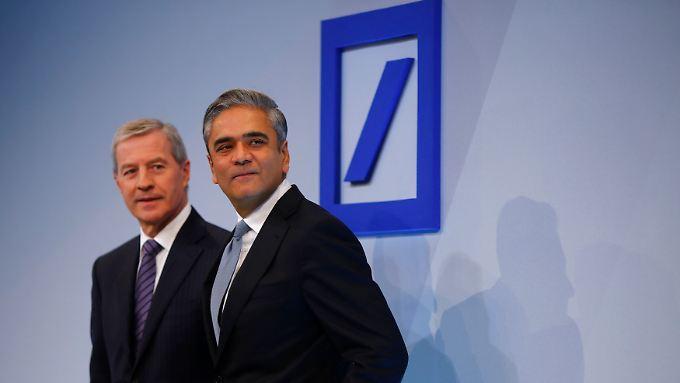 """Die """"Kulturkämpfer"""" der Deutschen Bank: Jürgen Fitschen und Anshu Jain."""