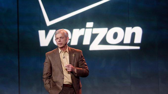 So sieht ein Weltrekordhalter aus: Verizon-Chef Lowell McAdam.