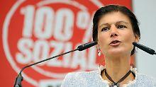 """Interview mit Sahra Wagenknecht: """"Die SPD will ins Bett mit der CDU"""""""