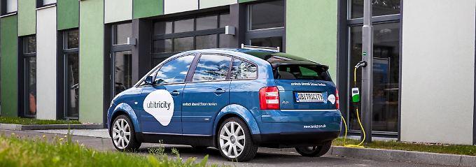 Die Berliner Firma Ubitricity will mit ihrer Technik die Elektromobilität revolutionieren.