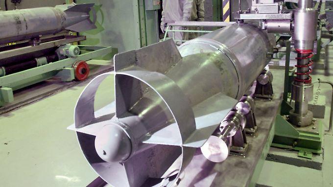 Solche Trägersysteme werden benutzt, um Giftgaskapseln abzufeuern.