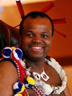 Es wird wohl nicht letzte Hochzeit von Mswati III. sein.