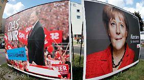 Es wird eng: Patt-Situation verspricht spannendes Wahl-Finale