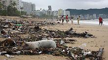 Dramatische Lage im Ferienparadies: Tausende Urlauber sitzen in Acapulco fest