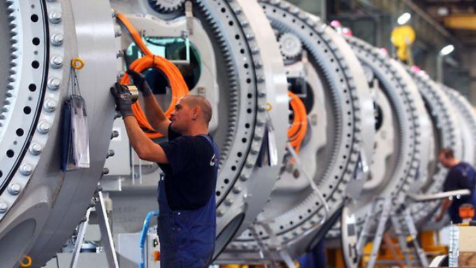 Die deutsche Wirtschaft legt 2014 ordentlich zu.