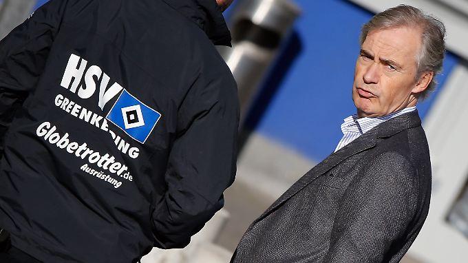 HSV-Boss Edgar Jarchow darf sich beim nächsten Trainer keinen neuerlichen Fehlschlag leisten.