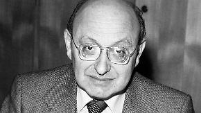 Unerschrockener Literaturkritiker: Reich-Ranicki stirbt mit 93