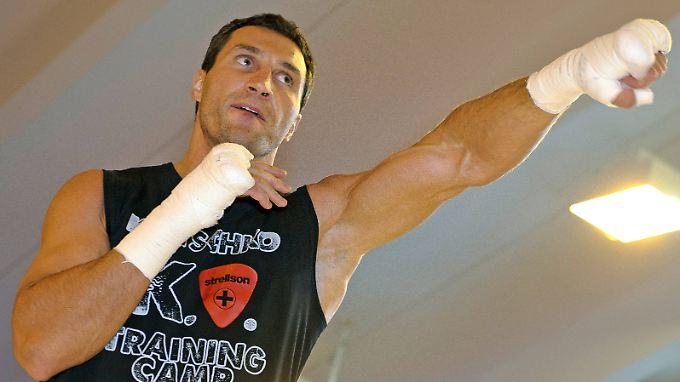 Wladimir Klitschko ist bereit für den Mega-Fight in Moskau.