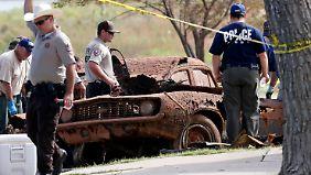 Grusel in Oklahoma: Sechs Tote in versunkenen Autos gefunden