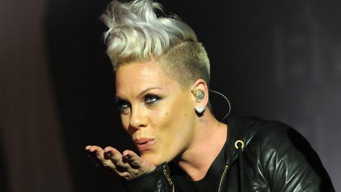 """Seit wenigen Tagen ist Pink die """"Frau des Jahres"""", gekürt vom """"Billboard""""-Magazin."""
