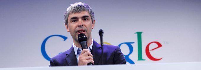 Niemand wird jünger: Google-Chef Larry Page investiert einen - kleinen - Teil der Erträge in die Gesundheitsforschung.