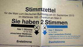 Erststimme und Zweitstimme für CDU: Merkel kritisiert FDP-Kampagne
