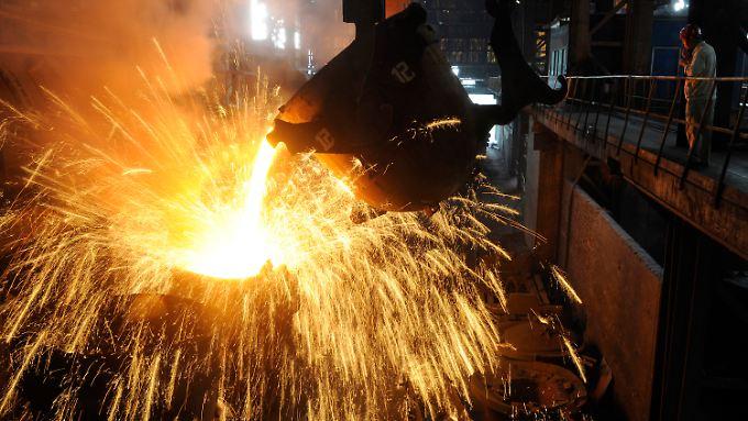 In Chinas Industrie laufen die Geschäfte wieder.