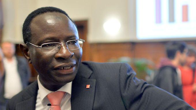 Sitzt bald für die SPD im Bundestag: Karamba Diaby aus Halle.