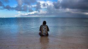 Kiribati wird in naher Zukunft nicht mehr bewohnbar sein.