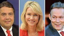 Auf dem Weg in die Große Koalition: SPD fordert sechs Ministerien