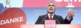 Bleibt die Große Koalition?: Österreichs Parteien beraten sich