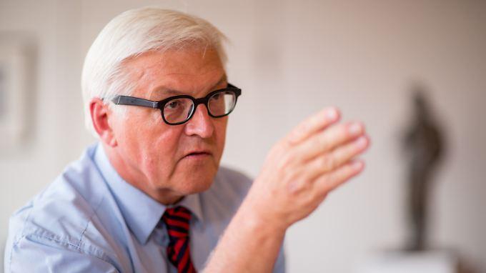 Steinmeier reichte seine Doktorarbeit 1991 an der Uni Gießen ein.