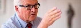Ist Steinmeiers Doktorarbeit ein Plagiat?: Politologe warnt vor Rufmord