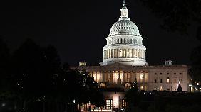 Bislang kann sich der Kongress nicht auf einen Übergangshaushalt einigen.