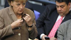 Schwarz-rotes Armdrücken: Union trifft SPD zu Sondierungsgesprächen