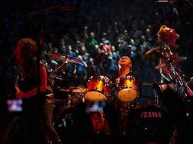 Konzert in alle Richtungen - für den Film spielten Metallica auf einer 360-Grad-Bühne.