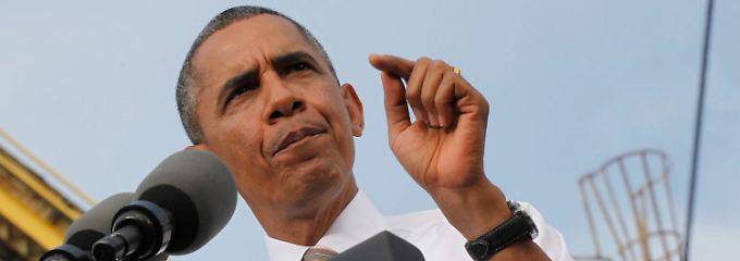 Ende der Krise binnen fünf Minuten? Obama glaubt an eine schnelle Lösung - wenn die Republikaner sich bewegen.