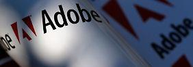 Nach dem Datenklau fiel der Adobe-Aktienkurs.