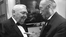 Adenauer, der erste Bundeskanzler: Der Alte aus Rhöndorf wollte nicht gehen