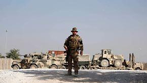 """""""Mit einem lachenden und einem weinenden Auge"""": Soldaten verlassen Kundus"""
