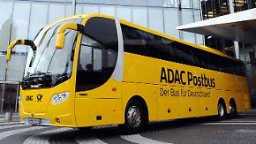 Preisunterschiede bei Fernreisen: ADAC und Post fahren jetzt auch Bus