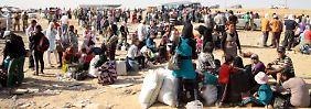 """Flüchtlingswelle in den Irak: """"Syrer wandern hunderte Kilometer"""""""