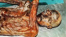 Rund 5250 Jahre alt ist die Mumie aus den Alpen - doch dafür noch erstaunlich gut erhalten.
