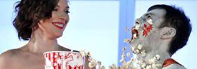 Mund einfach zu voll: Kinowerbung geht an Popcorn-Essern vorbei