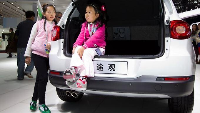Kunden von morgen? Jedes dritte Auto setzt Volkswagen inzwischen in China ab.