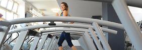 Mehr Muskeln, mehr Glückshormone: Musik machen beim Sport macht stark und froh