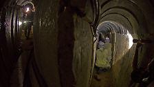 """Kilometerlanger Geheimgang aus Gaza: Der """"Terror-Tunnel"""" nach Ein Haschloscha"""