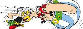 Normalerweise ein Herz und eine Seele: Asterix und Obelix.
