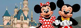 Micky mit seiner Minnie - näher werden sie sich wohl nie kommen.