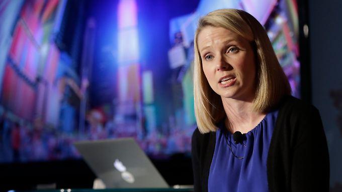 Marissa Mayer trotzdem zufrieden: Mit Yahoo geht es weiter abwärts