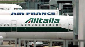 Air France könnte schon bald mit Alitalia fusionieren.