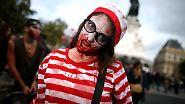 Ist denn schon Halloween?: Zombie-Märsche lehren das Fürchten