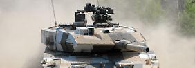 Kriegsmaschine aus deutschem Hause: Der Leopard 2.