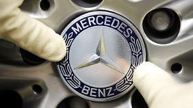 Stärkster Monat der Unternehmensgeschichte: Daimler blickt auf Rekordumsatz