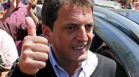 Gibt sich optimistisch: Oppositionsführer Massa.