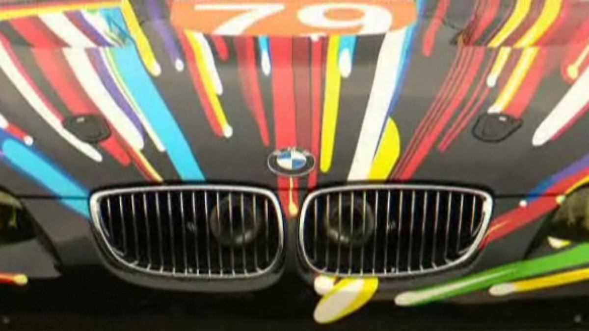 ps das automagazin bmw art car pop art auf dem gt2 n. Black Bedroom Furniture Sets. Home Design Ideas