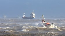 Auf der Hallig Hooge südlich von Sylt blies der Sturm mit 148 Kilometern pro Stunde, auf Spiekeroog waren es 158.