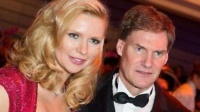 Veronica Ferres und Carsten Maschmeyer beim 43. Ball des Sports in Wiesbaden.. Foto: Boris Roessler