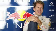 Es läuft auch in Abu Dhabi: Sebastian Vettel.